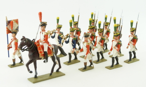 Grenadiers of the Valaisan Battalion