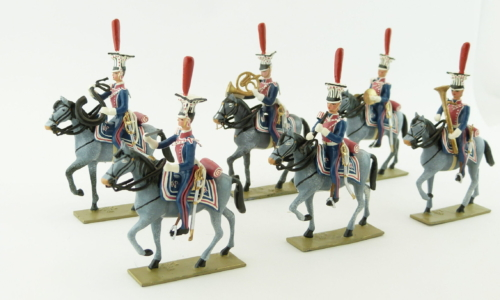 Mounted Band from the 1st Regiment of Polish Lancers