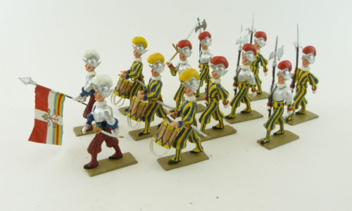 Pontifical Swiss Guards (with armor)